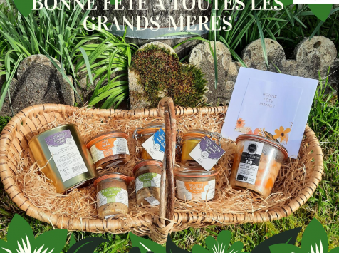 L'Armoire à Conserves - Coffret Cadeau Mamie & Papi
