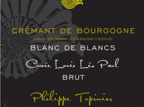 Domaine Tupinier Philippe - 2 Bouteilles De Crémant De Bourgogne Blanc De Blancs
