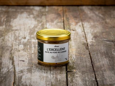 La Ferme Schmitt - L'Excellent, Pâté au Foie de Canard 85 g