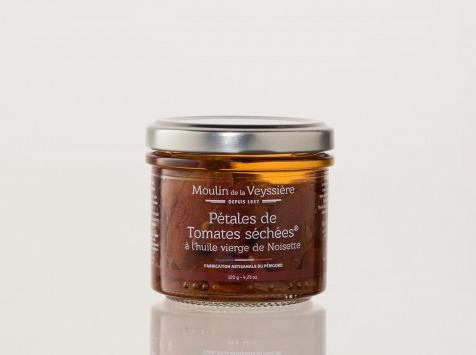 Moulin de la Veyssière - Pétales de tomates séchées® à l'huile de noisette