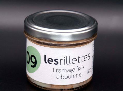 Secrets de Famille - Rillettes Fromage Frais et Ciboulette
