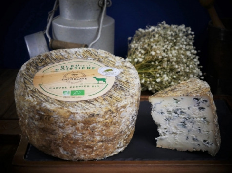 Ferme de La Tremblaye - Bleu De La Boissière Fermier Bio  2,2kg
