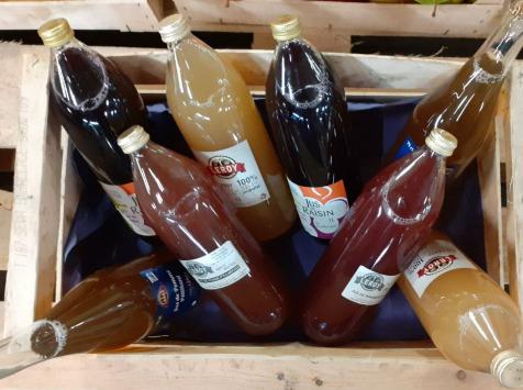 Le Châtaignier - Colis De Jus De Pommes Assortis