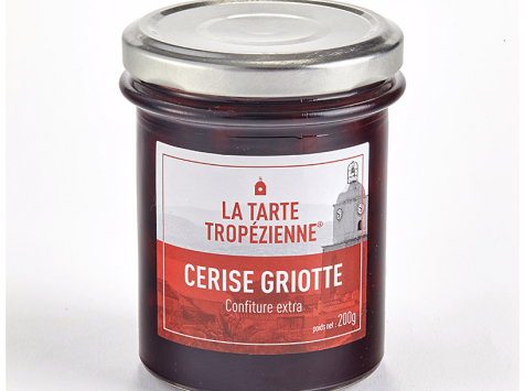 La Tarte Tropézienne - Confiture extra cerise griotte