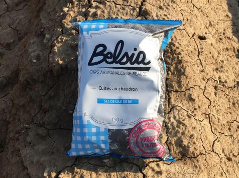 Chips BELSIA - Chips Artisanale au Sel de l'île de Ré x10