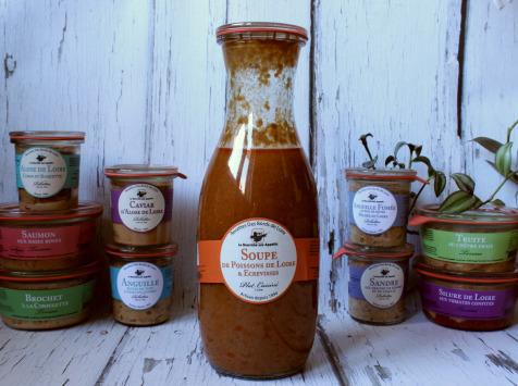 La Bourriche aux Appétits - Soupe de Poisson de Loire aux Écrevisses 1 litre