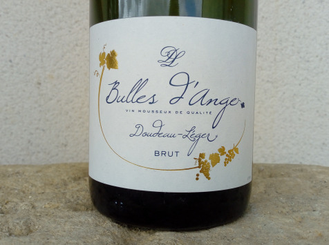 Sancerre Doudeau-Leger - Bulles d'Ange - Méthode Traditionnelle Blanc Brut - 1 Bouteille
