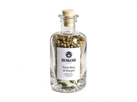 BOKOR - Poivre Blanc De Kampot, Bouteille De 55g