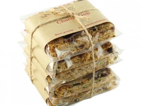 La fabrique du granolier - Pack 5 Barres Choco-goji