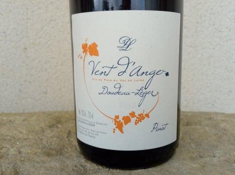Sancerre Doudeau-Leger - Vent d'Ange - Vin de Pays du Val de Loire Rouge IGP 2020 - 6 Bouteilles