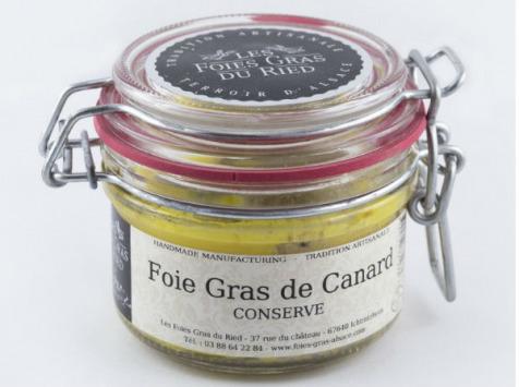 Les foies gras du Ried - Foie Gras de Canard - Conserve 130g