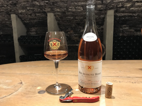 """Domaine Michel & Marc ROSSIGNOL - Bourgogne """"Rosé"""" 2018 - 6 Bouteilles"""