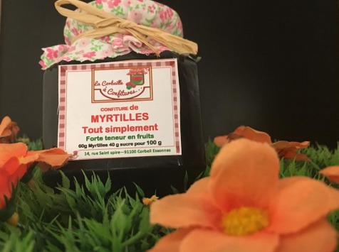 La Corbeille à Confitures - Confiture De Myrtilles Tout Simplement