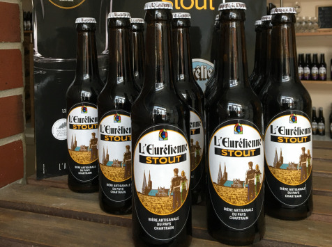"""L'Eurélienne - Brasserie de Chandres - Offre Spéciale ''Saint Patrick"""" : 11 Bières Stout 33cl + 1 Offerte"""