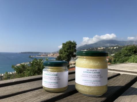 Le Jardin des Antipodes - Billes De Citron Caviar - 5 Pots De 190g
