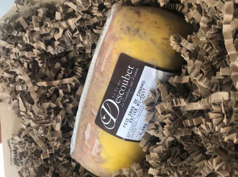LA FERME DESCOUBET - Foie Gras de Canard Entier Mi-cuit 200g