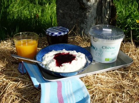 Laiterie du Climont - K-Philus - Fromage Blanc De Chèvre, Type Faisselle (bio)