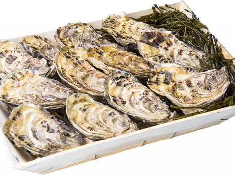 Les Huîtres Chaumard - Huîtres De Saint-Riom - 5 Douzaines De 2 (60 Huîtres)