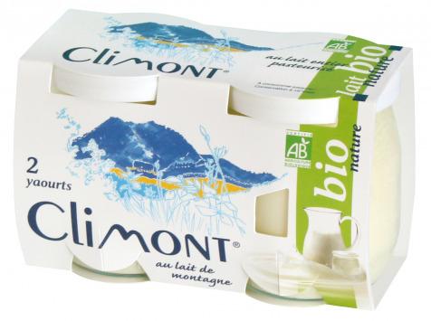Laiterie du Climont - K-Philus - Yaourts Climont Nature, par 12 pots