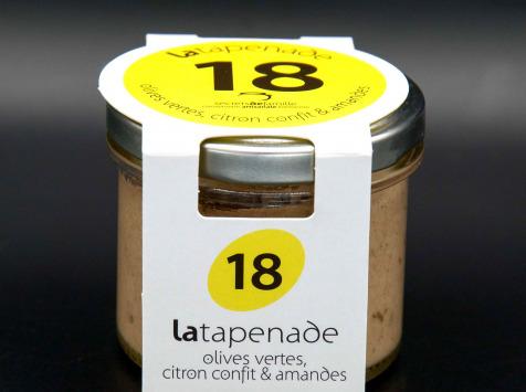 Secrets de Famille - Tapenade d'Olives Vertes - Citron Confit & Amande