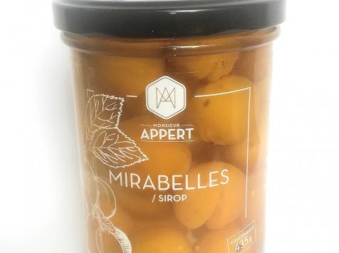 Monsieur Appert - Mirabelles Au Sirop