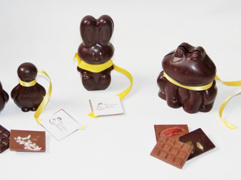 Mon jardin chocolaté - Lapin De Pâques Chocolat Noir