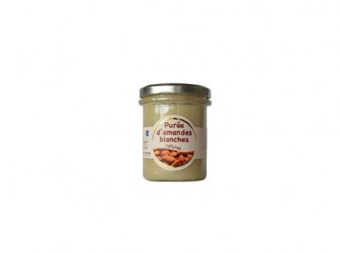 Les amandes et olives du Mont Bouquet - Purée D'amande Blanche Et Nature 180g