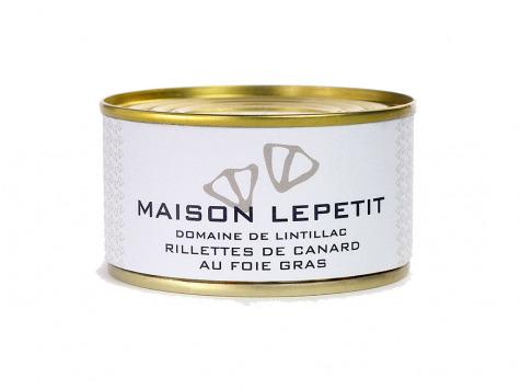 Maison Lepetit - Rillettes De Canard Au Foie Gras