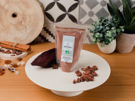 Le Petit Atelier - Préparation À Chocolat Chaud Aux Épices De Noël Bio