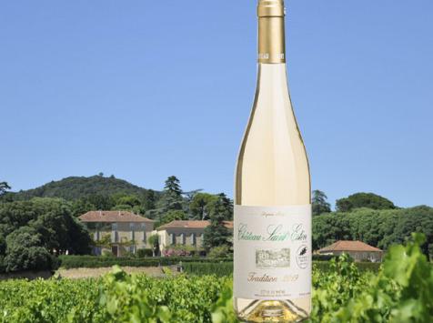 Château Saint Estève d'Uchaux - Viognier Roussanne Blanc sec Tradition 2020 AOP Côtes du Rhône BIO