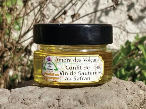 Safran des Volcans - Confit de Sauternes au Safran 40g