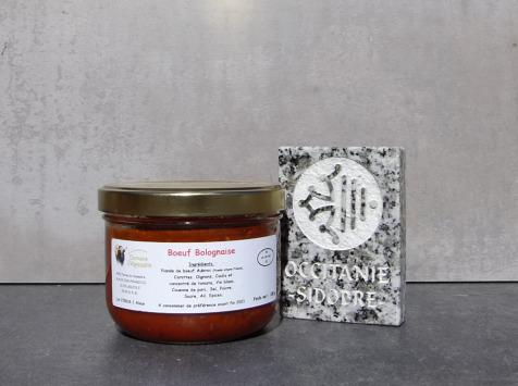 La Ferme du Vayssaïre - Bolognaise de Bœuf Aubrac (Lot de 4 Bocaux)