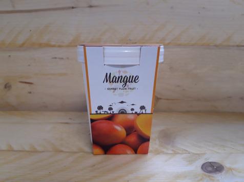 La Ferme du Logis - Sorbet Plein Fruit Mangue