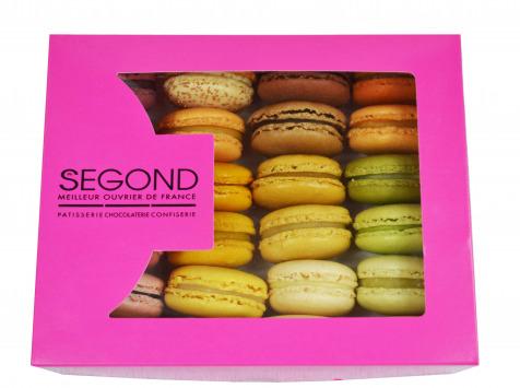 Philippe Segond MOF Pâtissier-Confiseur - Boite De 30 Macarons Artisanaux