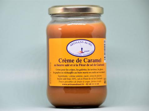 Artisans du Sel - Crème de Caramel au Beurre Salé et à la Fleur de Sel de Guérande 400g