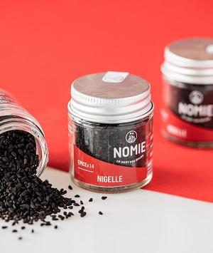 Nomie, le goût des épices - Nigelle, Cumin Noir
