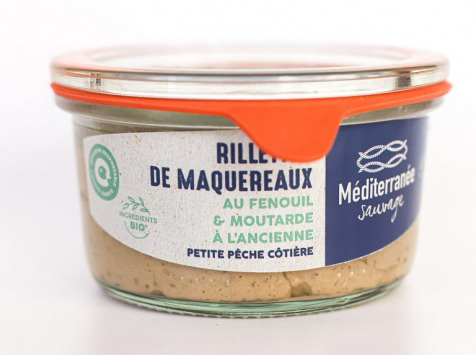 Méditerranée Sauvage - Rillettes de Maquereaux au Fenouil et Moutarde à l'Ancienne