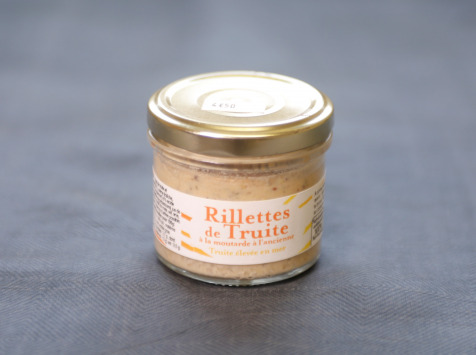 Saumon de France - Rillettes De Truites À La Moutarde À L'ancienne