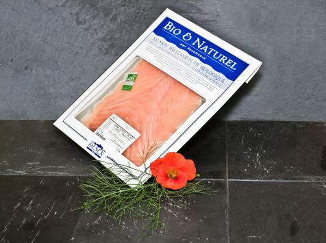 Olsen - Saumon fumé shetlandais (Ecosse) bio 150g