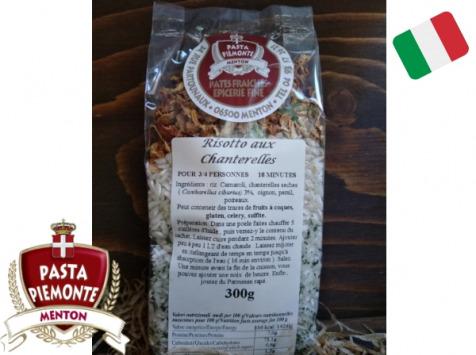 PASTA PIEMONTE - Risotto Carnaroli Aux Chanterelles