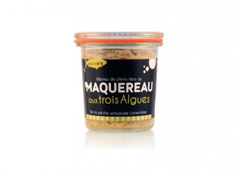 Conserverie artisanale de Keroman - Rillettes De Maquereaux Aux 3 Algues