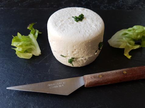 Chèvrerie des Brosses - Chèvre Frais À La Ciboulette
