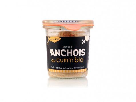 Conserverie artisanale de Keroman - Rillettes D'anchois Au Cumin Bio