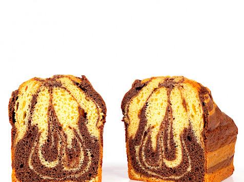 Compagnie Générale de Biscuiterie - Un Cake En Volutes Vanille Bourbon Et Chocolat Grand Cru De L'équateur