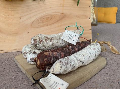 Venandi Sauvage par Nature - Panier de 5 Saucissons de Gibier - 750 g