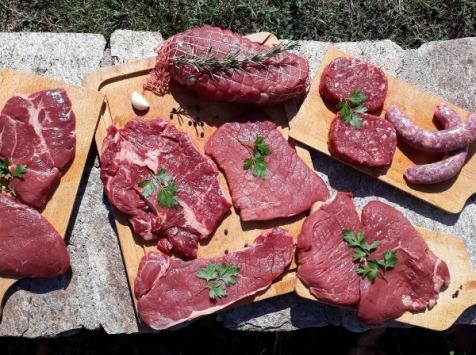 La ferme de Rustan - Colis Bœuf Limousin 10 kg Grillade