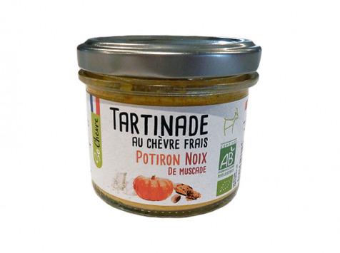 Fromagerie Seigneuret - Tartinade Au Chèvre Frais - Potiron Et Noix De Muscade 90g