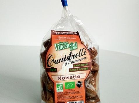Jean-Paul Vincensini et Fils - Canistrelli à La Noisette Bio