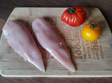Les Volailles de la Garenne - Blancs de poulet fermier Label Rouge x 4 - 750 g