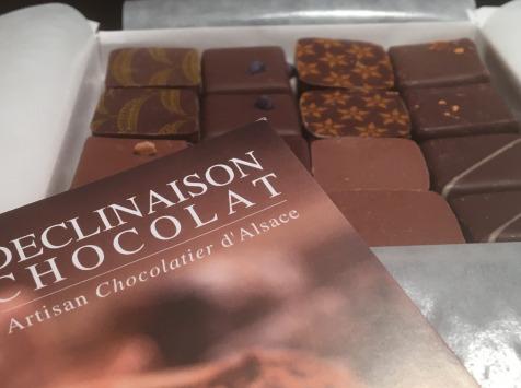 Déclinaison Chocolat - Coffret 16 Chocolats